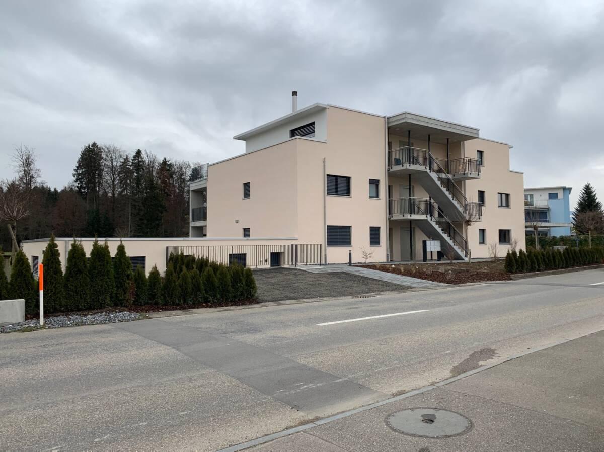 Neubau MFH Recherswil Imowa Architektur Zuchwil Solothurn