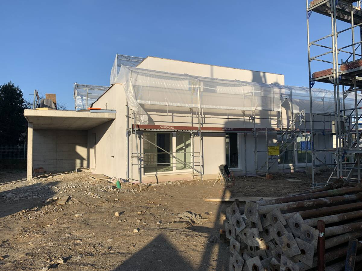 Neubau Einfamilienhaus Gerlafingen Haus A Imowa Architektur Zuchwil Solothurn