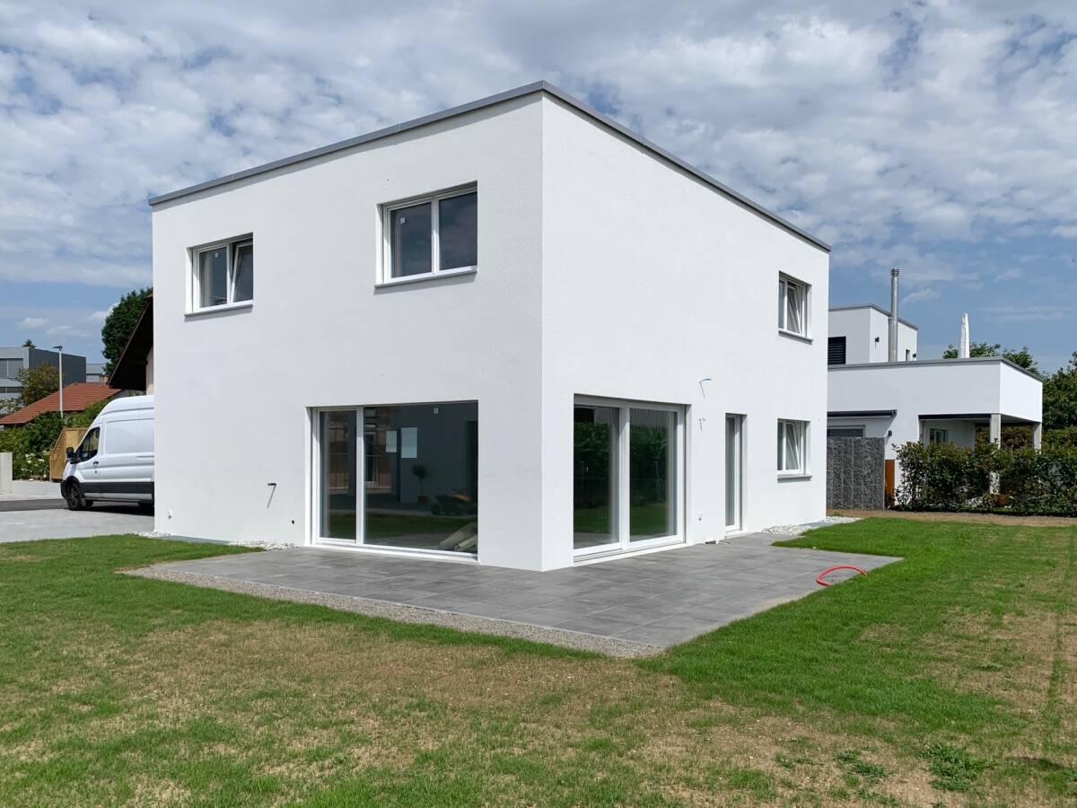 Neubau Einfamilienhaus Haus C Gerlafingen Imowa Architekturbüro Zuchwil