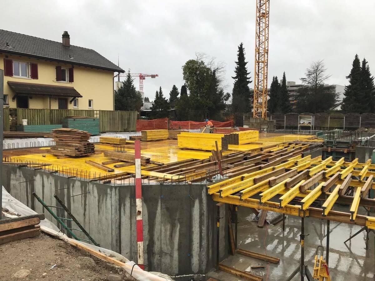 Neubau Mehrfamilienhaus Steinmatt Derendingen   Imowa Architektur, Zuchwil