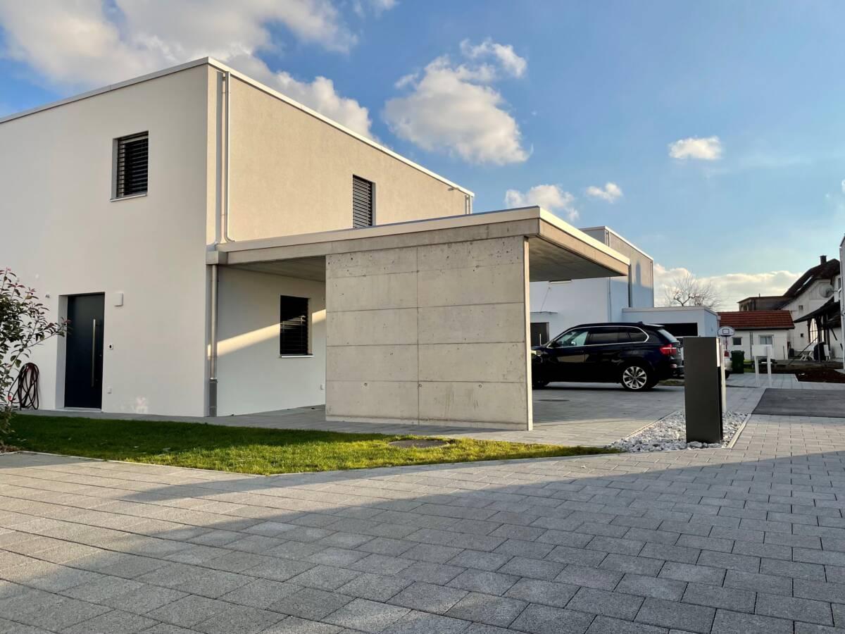 Neubau Einfamilienhaus Haus C Gerlafingen Imowa Architekturbüro Zuchwil _