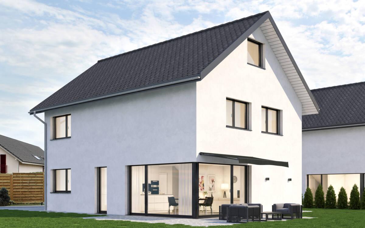 Überbauung vier Einfamilienhäuser Niederbipp, Kanton Bern | Imowa Architektur GmbH, Zuchwil, Solothurn