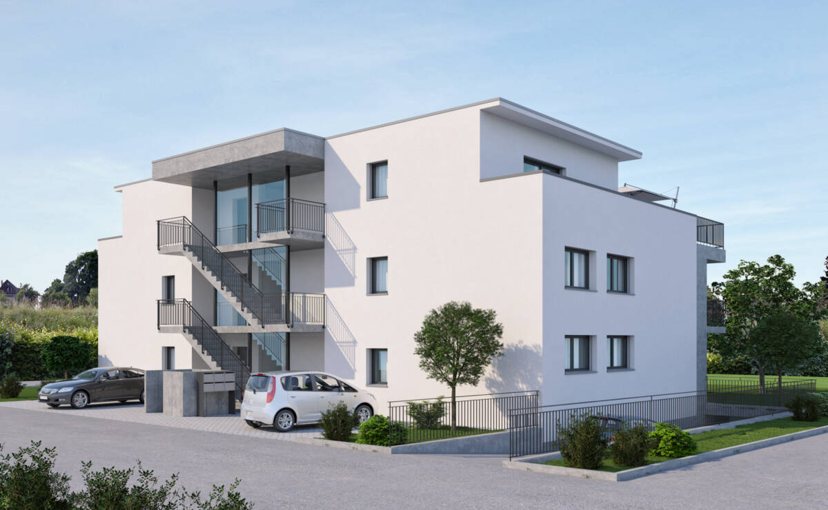 Neubau Mehrfamilienhaus, Solothurn